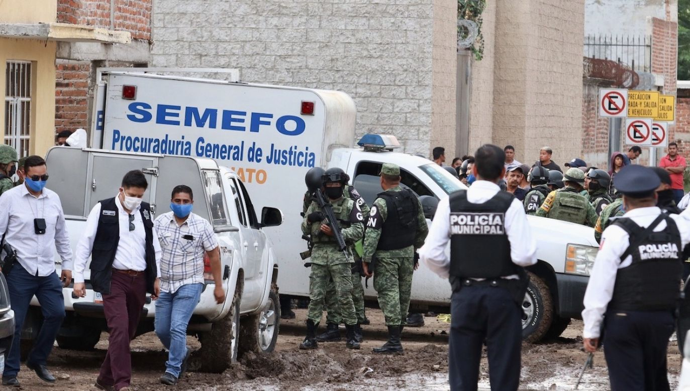 To jedna z najkrwawszych masakr w Meksyku od dekady (fot. PAP/EPA/STR)