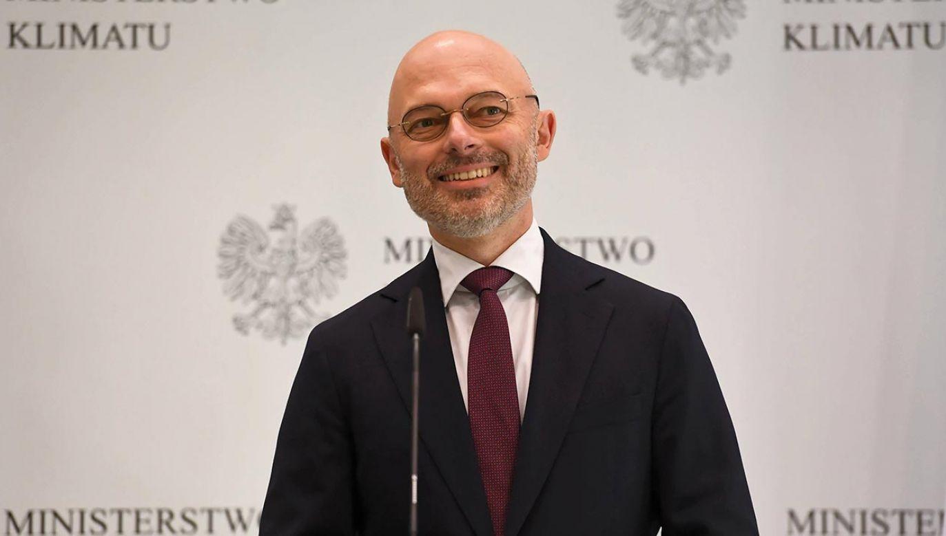 W kwietniu 2018 r. Kurtyka został pełnomocnikiem rządu ds. prezydencji COP 24 (fot.  PAP/Piotr Nowak)