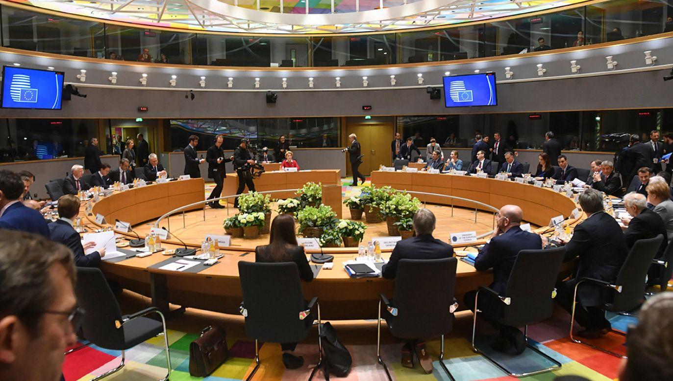 Oczekiwania państw unijnych były skrajnie różne (fot. PAP/Radek Pietruszka)
