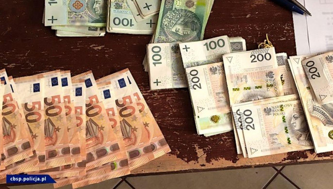 Śledczy szukają ukrytych majątków vatsterów (fot. CBŚP)