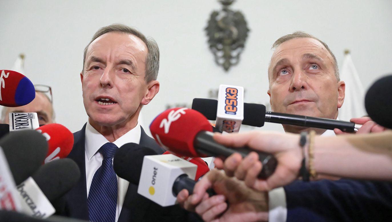 """Tomasz Grodzki, wbrew zachwytom jego partyjnych kolegów, którzy obwołali go już """"mężem stanu"""", wydaje się być politykiem tuzinkowym (fot. PAP/Tomasz Gzell)"""
