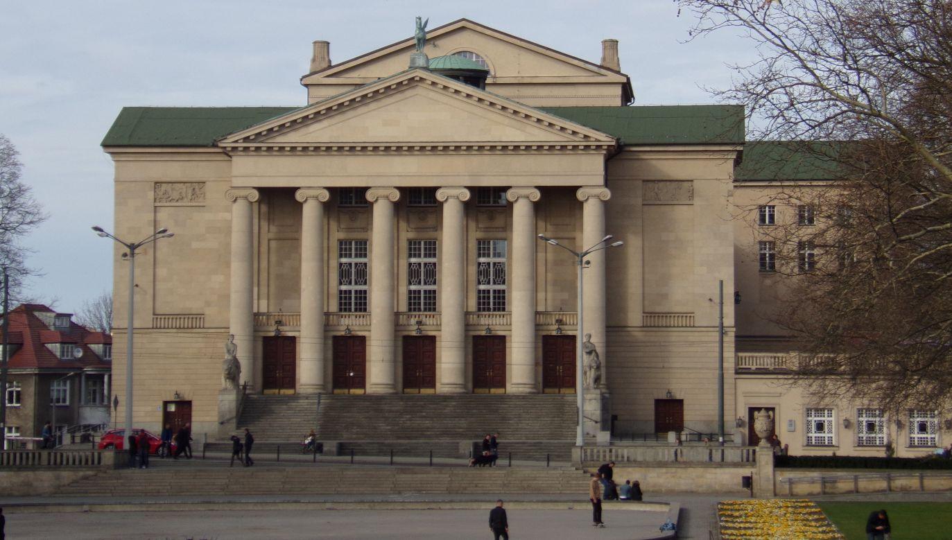 Teatr Wielki im. Stanisława Moniuszki w Poznaniu (fot. portal tvp.info/Beata Sylwestrzak)