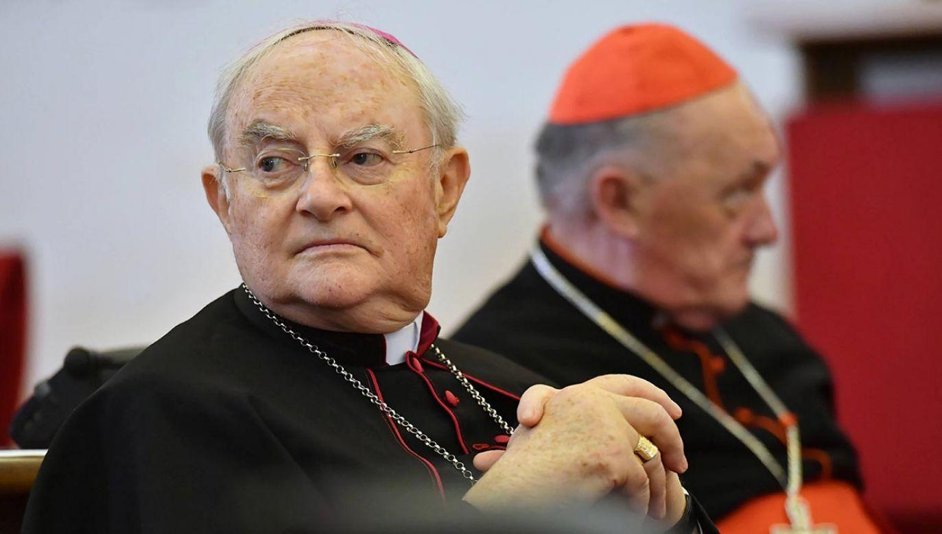 Kolejny raz duchowny trafił do szpitala (fot. PAP/Piotr Nowak)