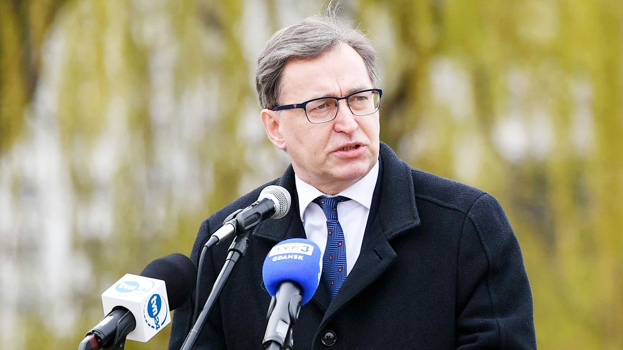 Prezes IPN Jarosław Szarek (fot. PAP/Adam Warżawa)