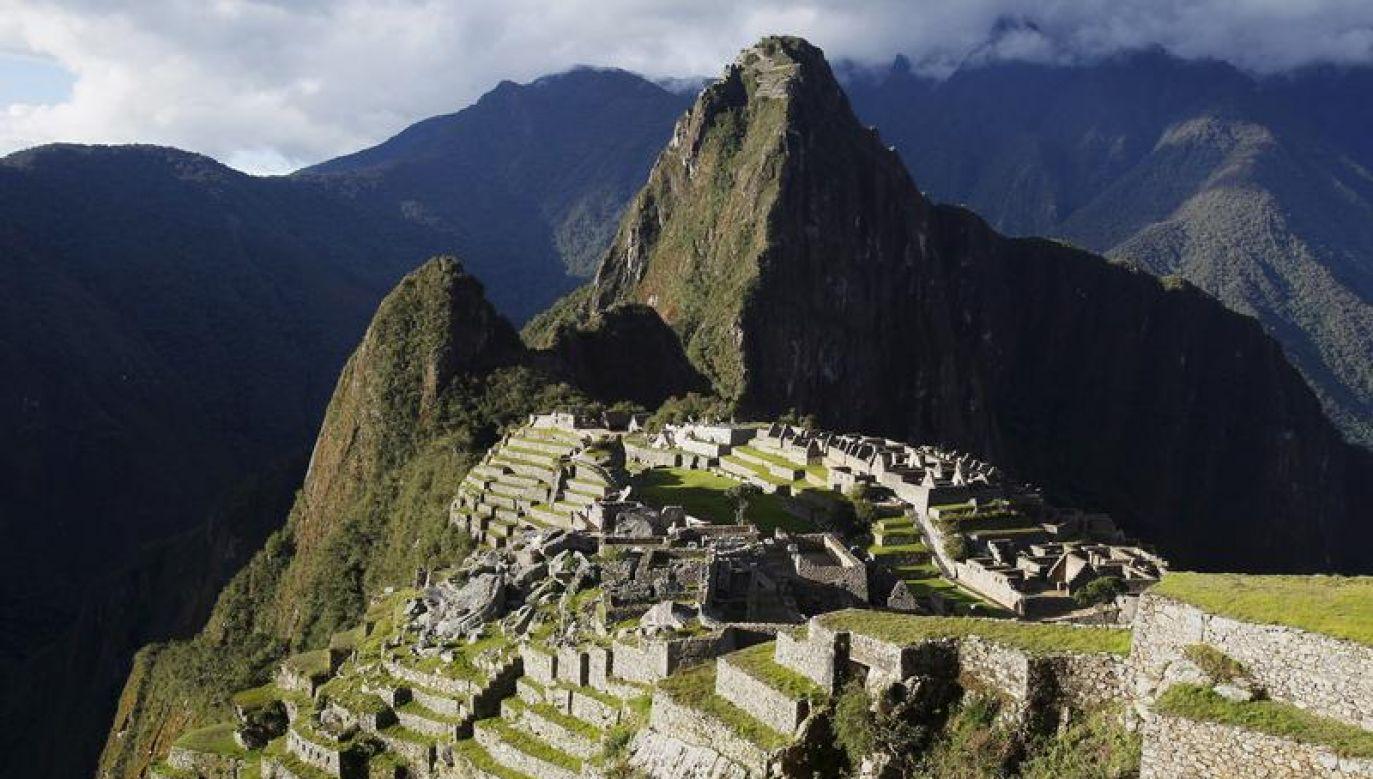 Miasto zbudowano w II połowie XV w czasach największego rozkwitu cywilizacji Inków (fot. REUTERS/Enrique Castro-Mendivil/Files)
