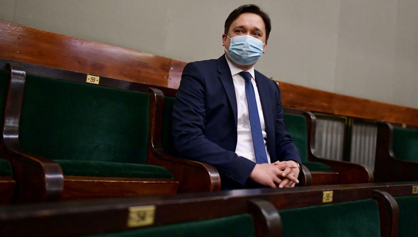 To wyrok demokracji; kandydat, który uzyskał większość głosów, zwyciężył – ocenił Marcin Wiącek (fot. PAP/Marcin Obara)