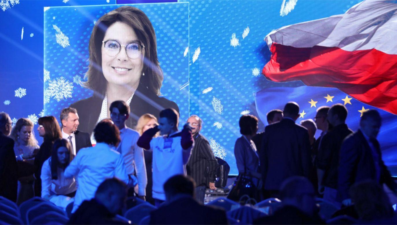 Na Małgorzatę Kidawę-Błońską głosowało 345 delegatów (fot. PAP/Leszek Szymański)