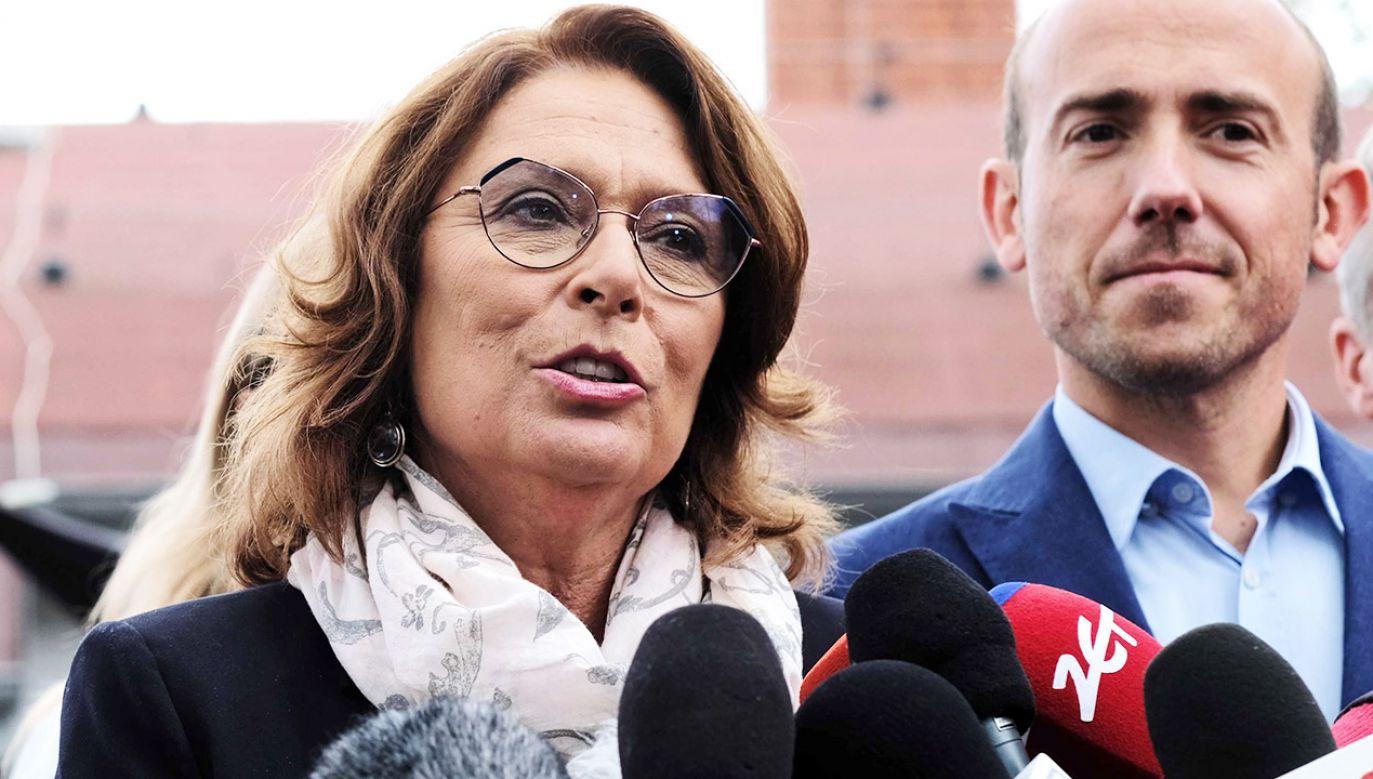 Małgorzata Kidawa-Błońska porównała prezesa TVP do Jerzego Urbana (fot. PAP/Andrzej Grygiel)