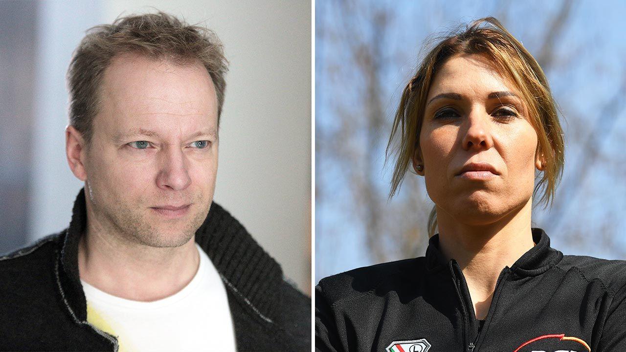 Maciej Stuhr został skrytykowany przez Zofię Klepacką (fot. Forum/Krzysztof Zatycki; PAP/Piotr Nowak)