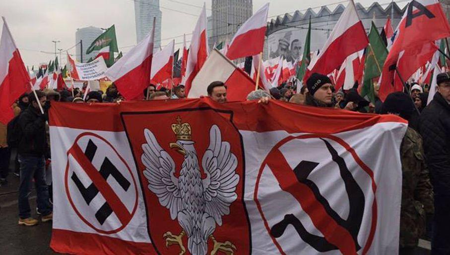Większość uczestników Marszu Niepodległości przyszła na niego z pobudek patriotycznych (fot. www.facebook.com/PatriaeFidelis/)