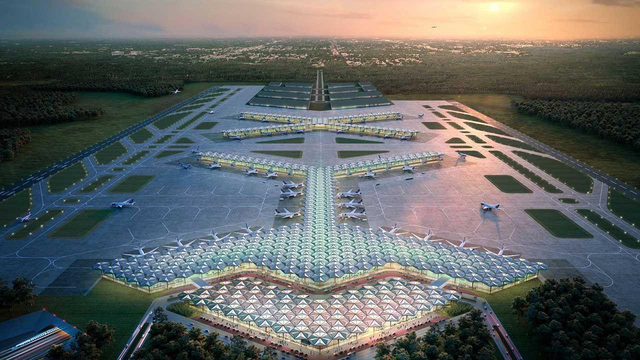 Jedna z koncepcji zakłada możliwość stopniowej rozbudowy megalotniska (fot. TT/Centralny Port Komunikacyjny)