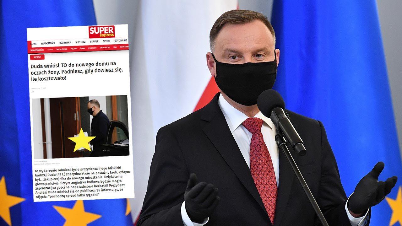 Prezydent apeluje: stop fake news (fot. PAP/Radek Pietruszka)