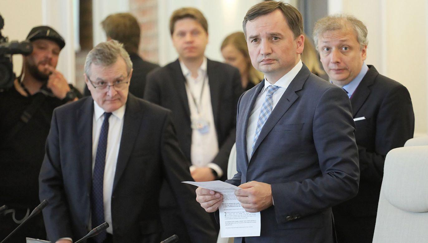 Za czasów PO panowała arogancja wobec problemu luki VAT – ocenia Zbigniew Ziobro (fot. PAP/Paweł Supernak)