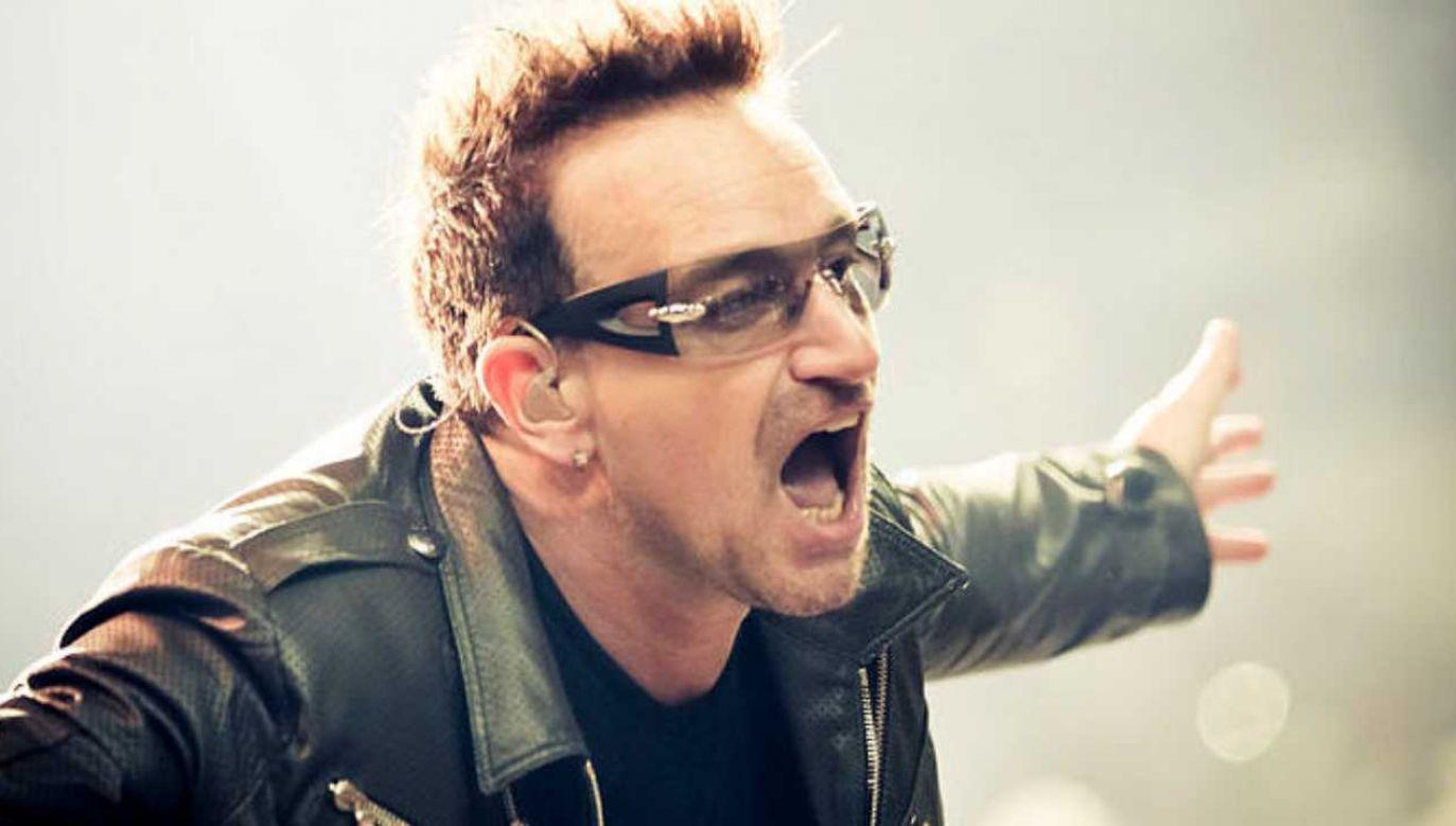 Bono, wokalista zespołu U2, kończy 60 lat (fot. Wikimedia Commons/Peter Neill)