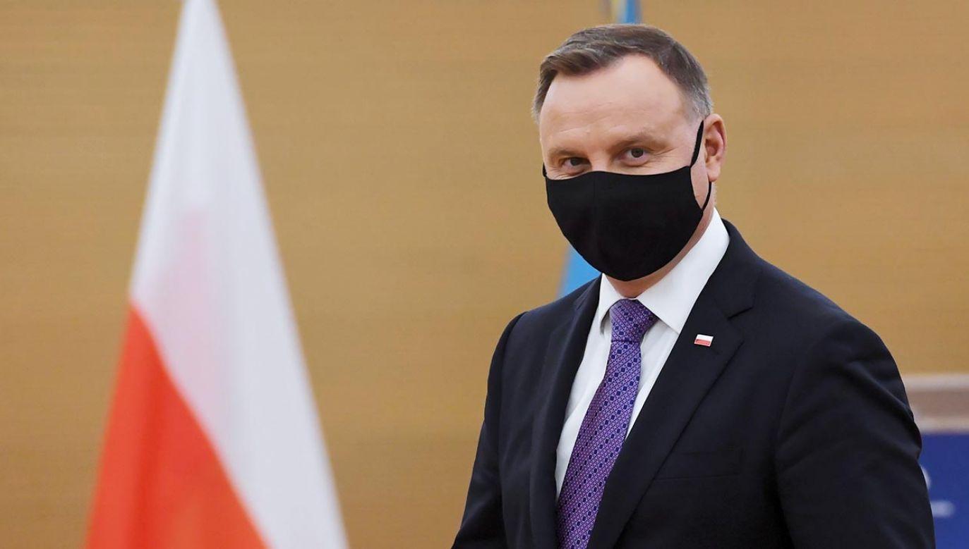 Prezydent Andrzej Duda (fot. PAP/Piotr Nowak)