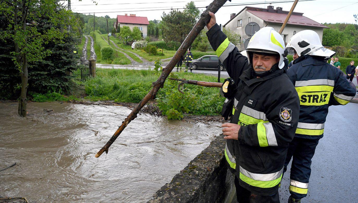 Miejscami może spaść nawet do 50 mm deszczu (fot. PAP/Darek Delmanowicz)