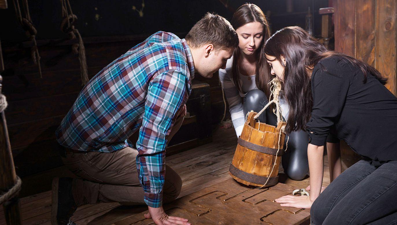 W styczniu działało 1015 escape roomów (fot. Shutterstock/Viacheslav Nikolaenko)