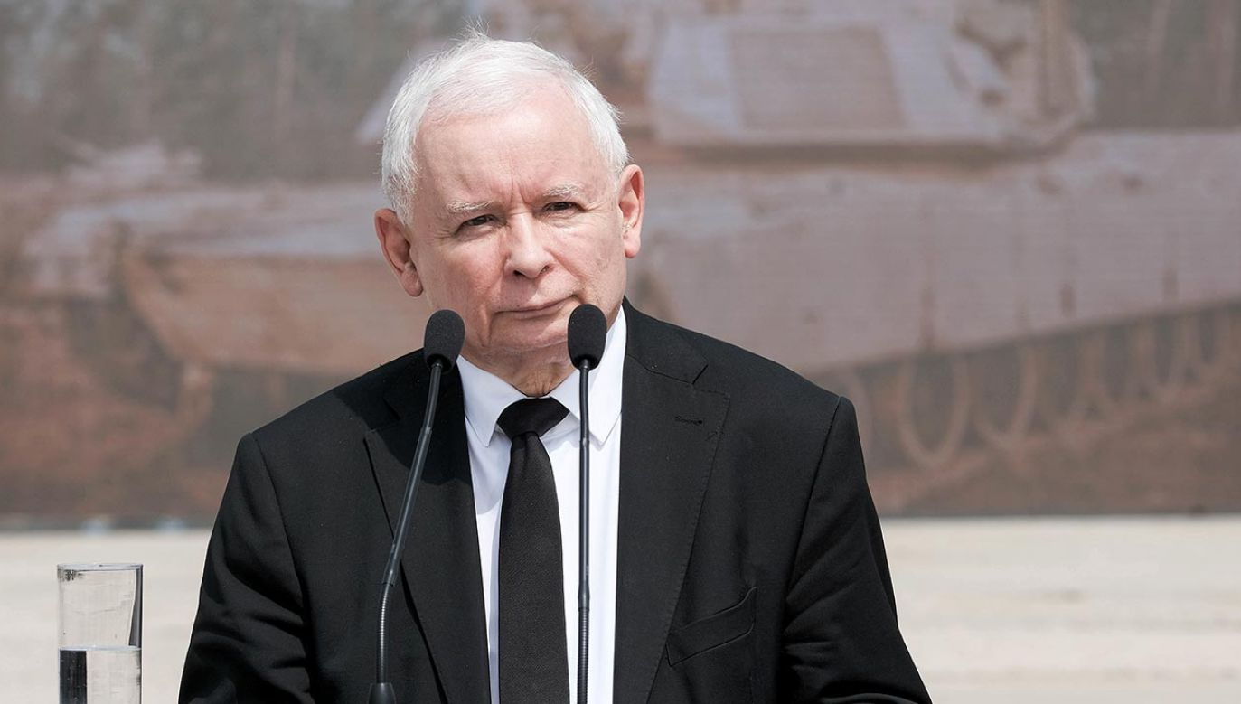 """Jarosław Kaczyński udzielił wywiadu """"Gazecie Polskiej"""" (fot. PAP/Mateusz Marek, zdjęcie ilustracyjne)"""