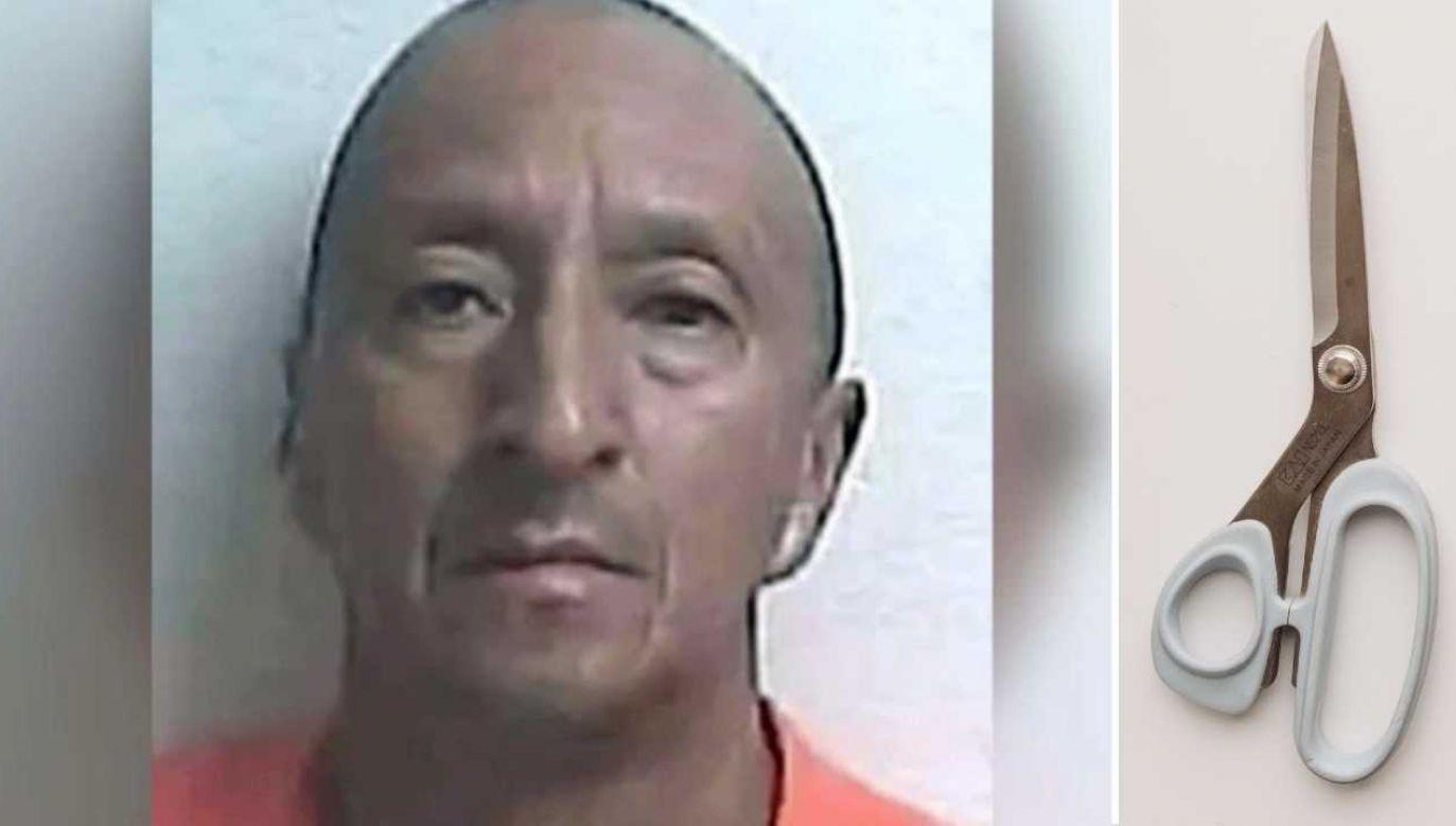 Alex Bonilla może trafić do więzienia nawet na 30 lat (fot. Gilchrist County Sheriff's Office/Pexels)