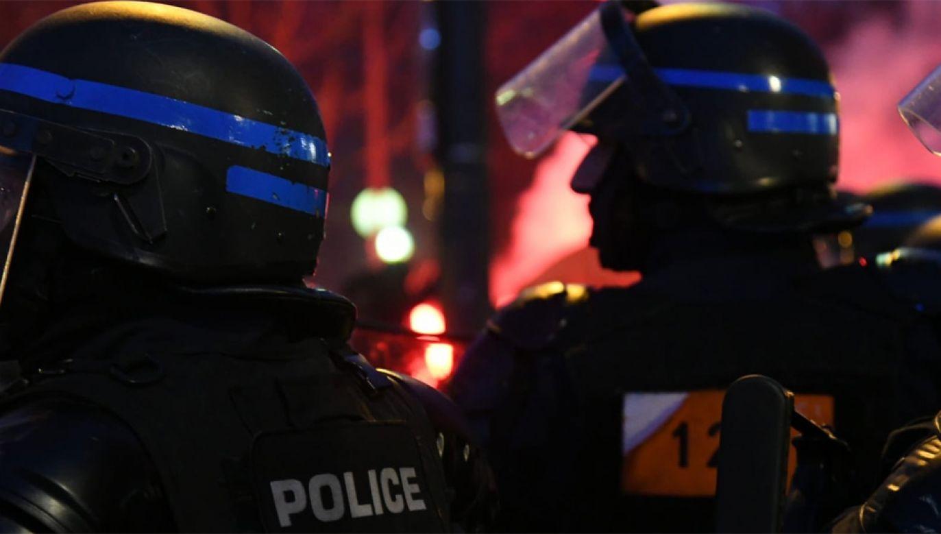 Policja zatrzymała 71 osób (fot. Préfecture de Police)