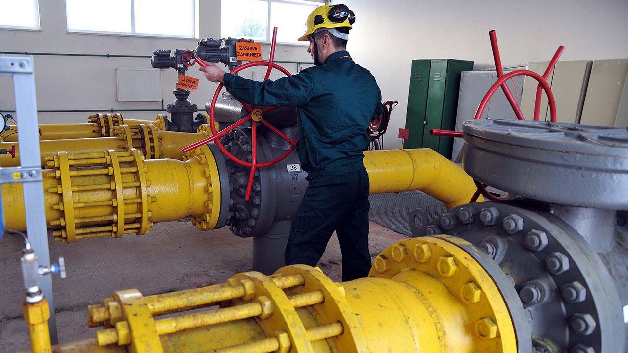 W Hermanowicach na Podkarpaciu znajduje się główny gazociąg, którym z Rosji przez Ukrainę do Polski przesyłane jest błękitne paliwo (fot.  arch. PAP/Darek Delmanowicz)