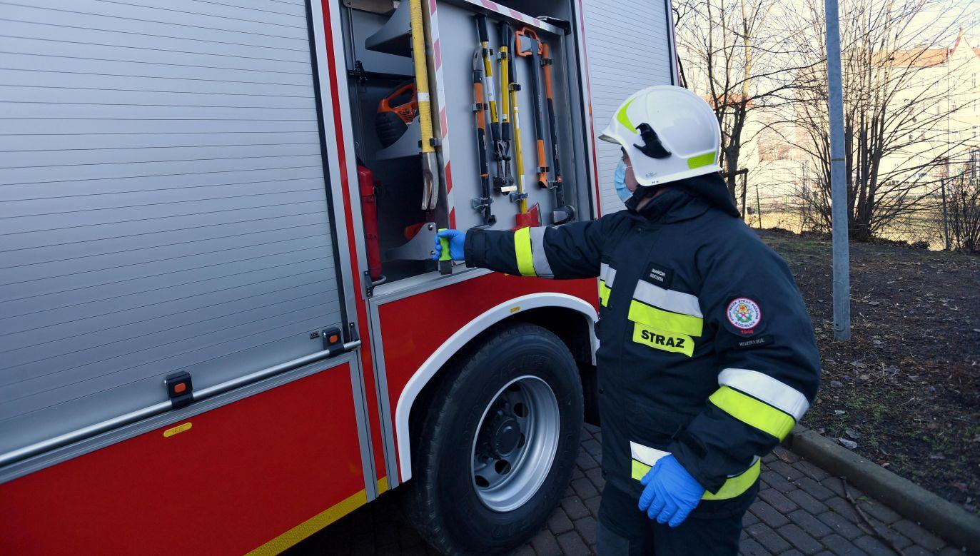 Burza wokół OSP. Przedstawiciele MSWiA wyjaśniają (fot. PAP/Marcin Bielecki)
