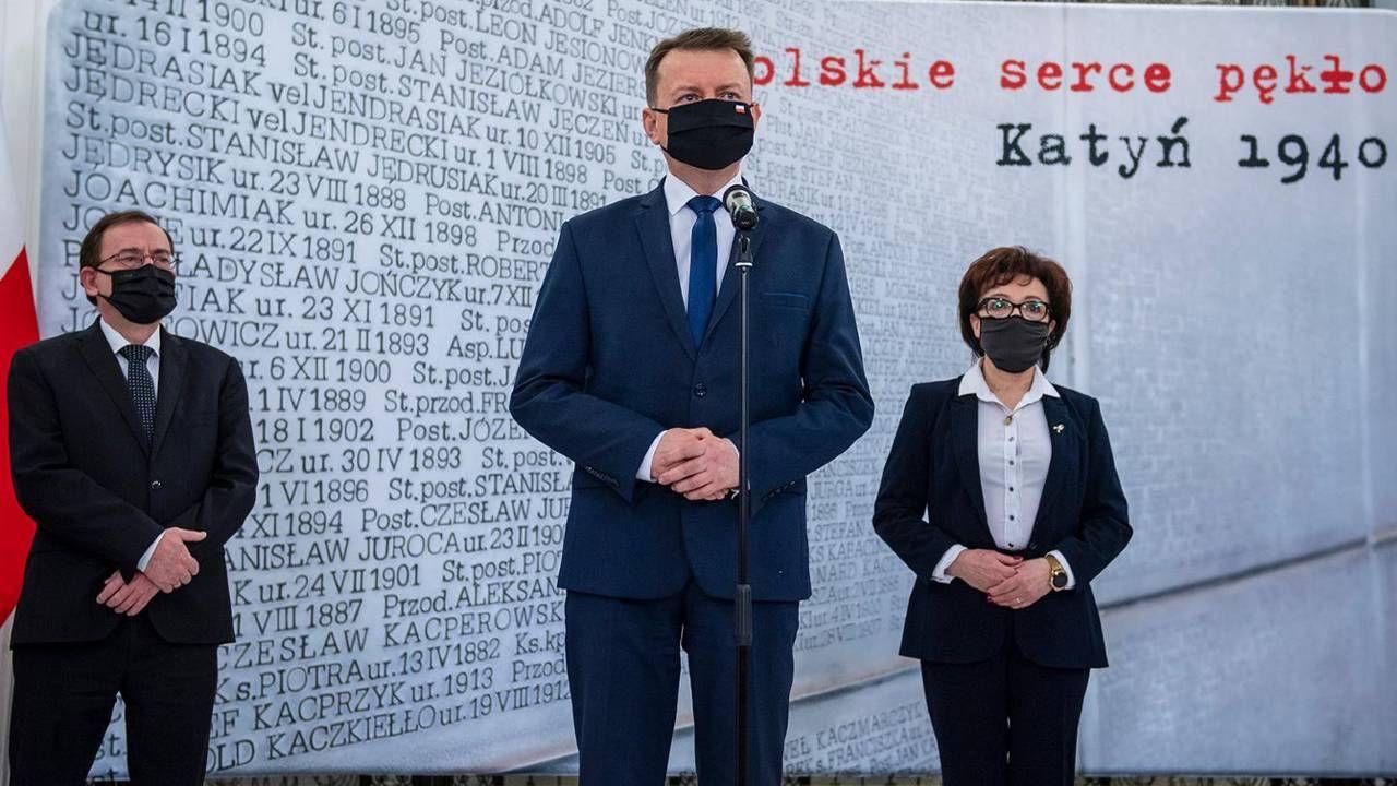 W skład komitetu honorowego wchodzi szef MON Mariusz Błaszczak (fot. Gov.pl)