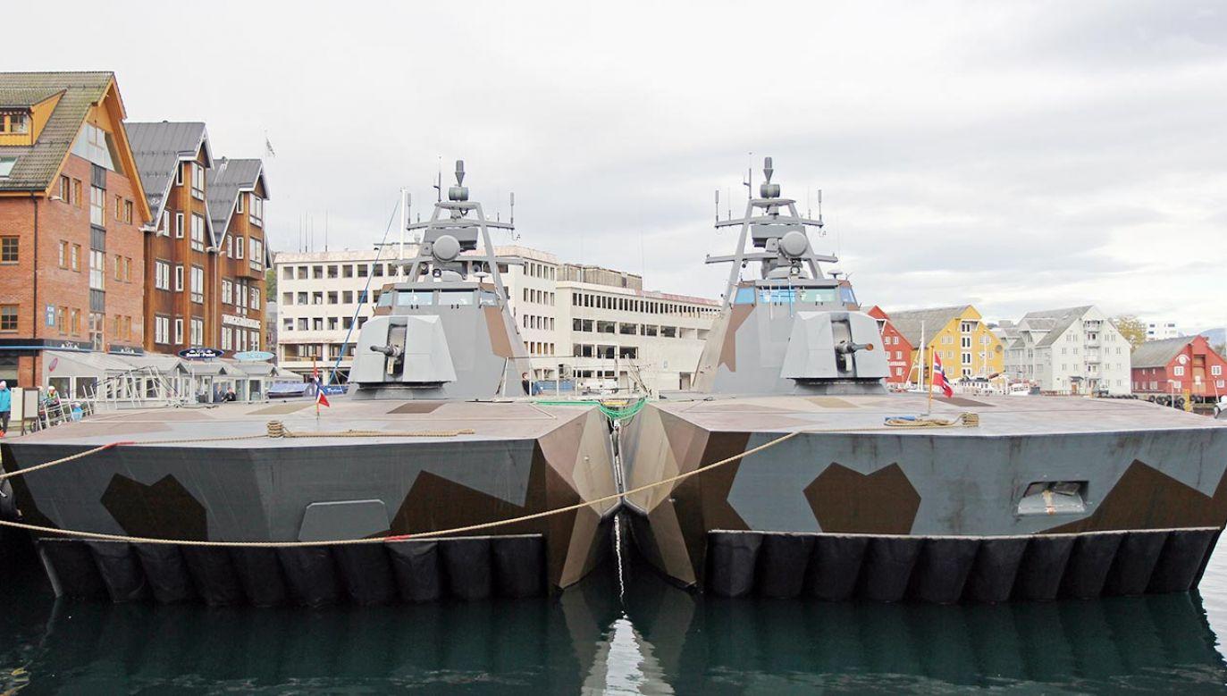 Dane dotyczące żeglugi norweskich okrętów po rosyjskich wodach były nieprawdziwe (fot. Shutterstock)