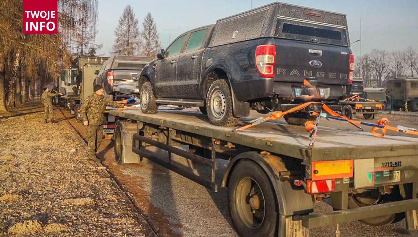 St. szer. Murawski: Warunki na drodze są zmienne (fot. Twoje Info)