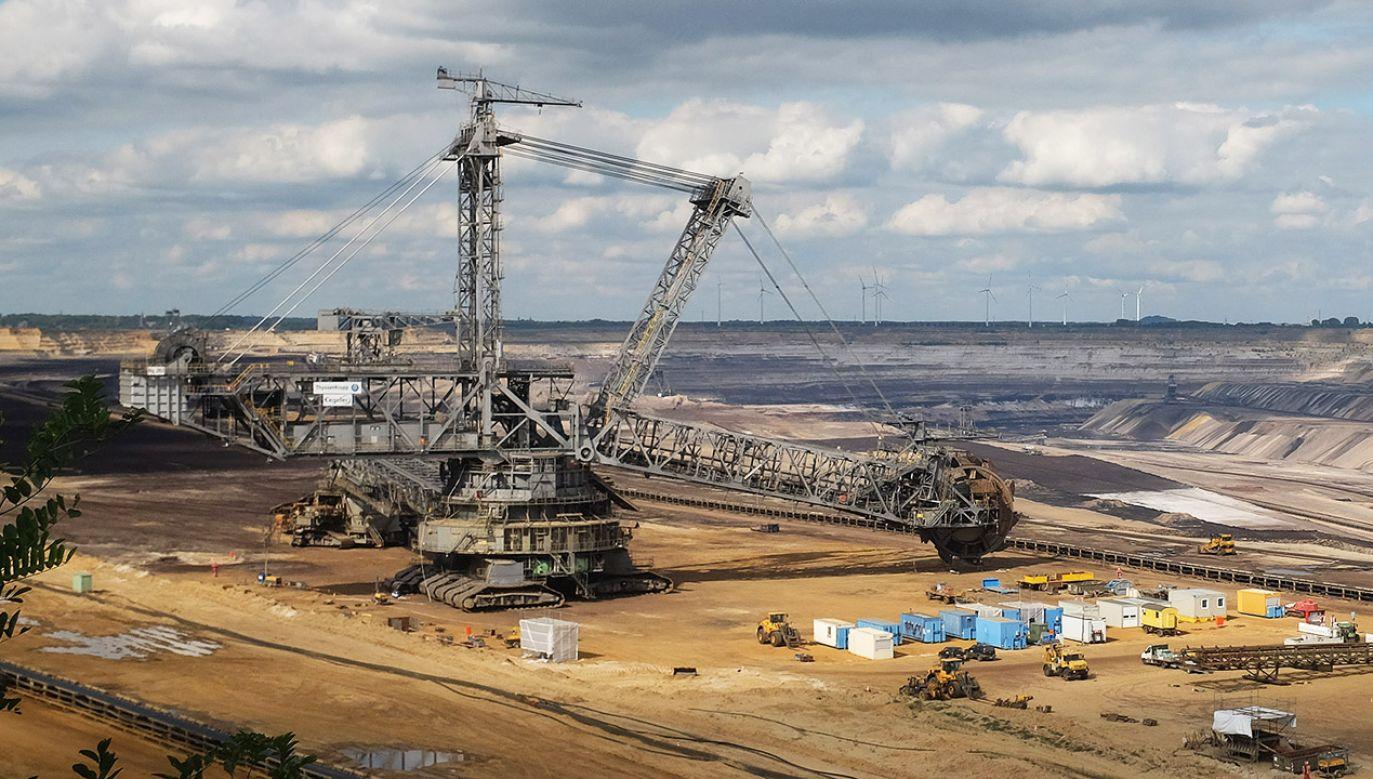 Anna Zalewska nt. kopalni węgla brunatnego (fot. Adam Berry/Getty Images)
