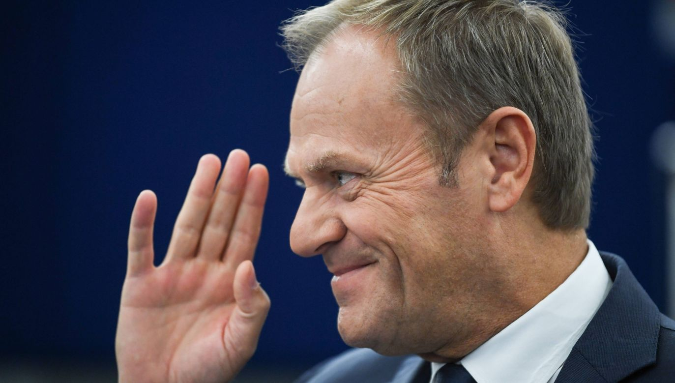 Kogo poprze Donald Tusk? (fot.arch.PAP/EPA/PATRICK SEEGER)