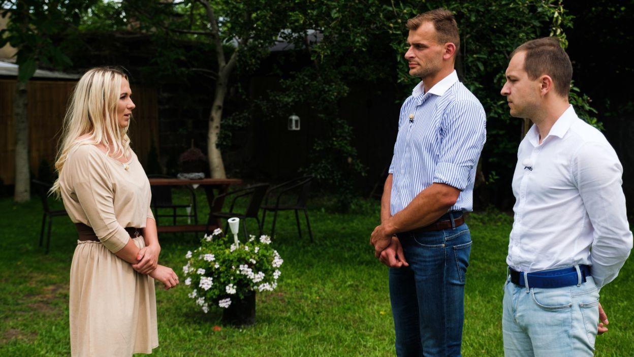 Ostatecznie Magda poszła za głosem serca i nie wybrała żadnego z kandydatów (fot. TVP)