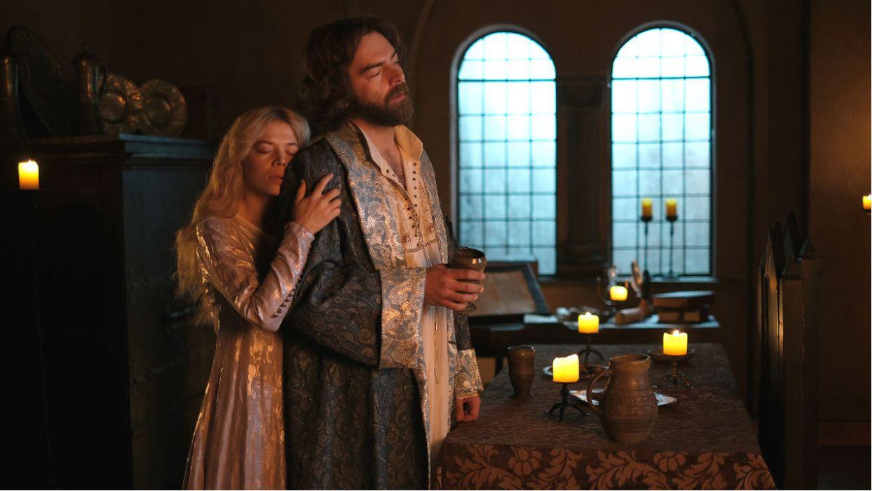 Burzliwy romans z Małgorzatą, żoną przyjaciela, wywołał na Wawelu liczne plotki (fot. TVP)