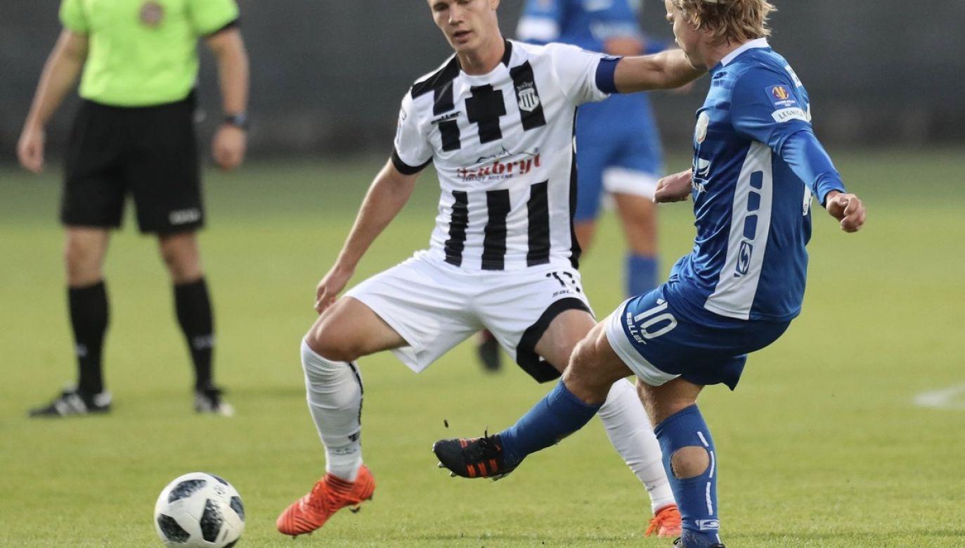 Sandecja Nowy Sącz występuje na drugim szczeblu rozgrywek piłkarskich (fot. arch.PAP/Grzegorz Momot, zdjęcie ilustracyjne)