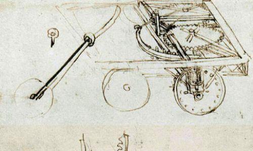Szkic automobilu. Fot. Wikimedia