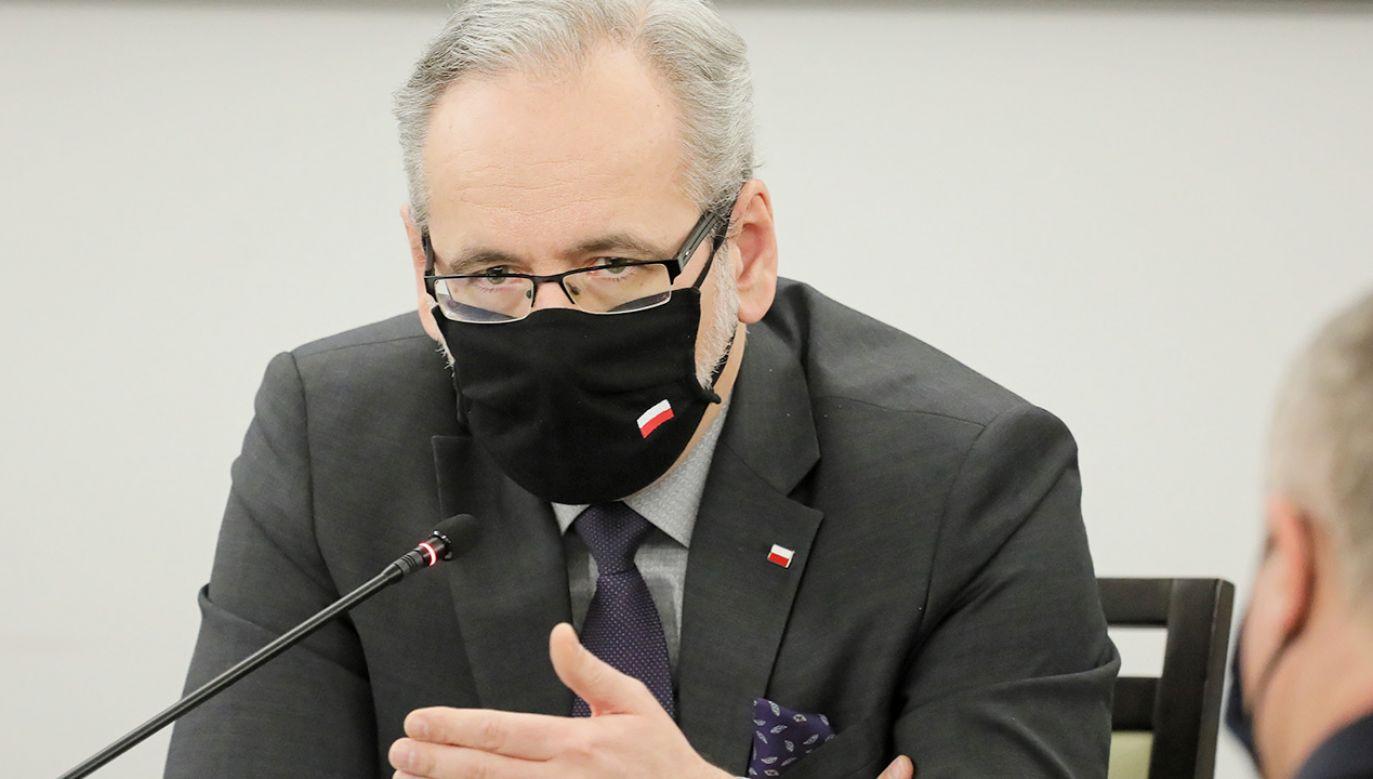 Minister zdrowia wyjaśnia, jak powstawała lista dot. kolejności szczepień (fot. PAP/Paweł Supernak)