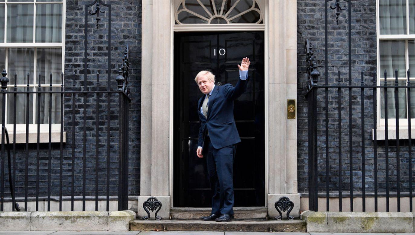 Boris Johnson poprowadził torysów do zwycięstwa w wyborach (fot. PAP/EPA/NEIL HALL)
