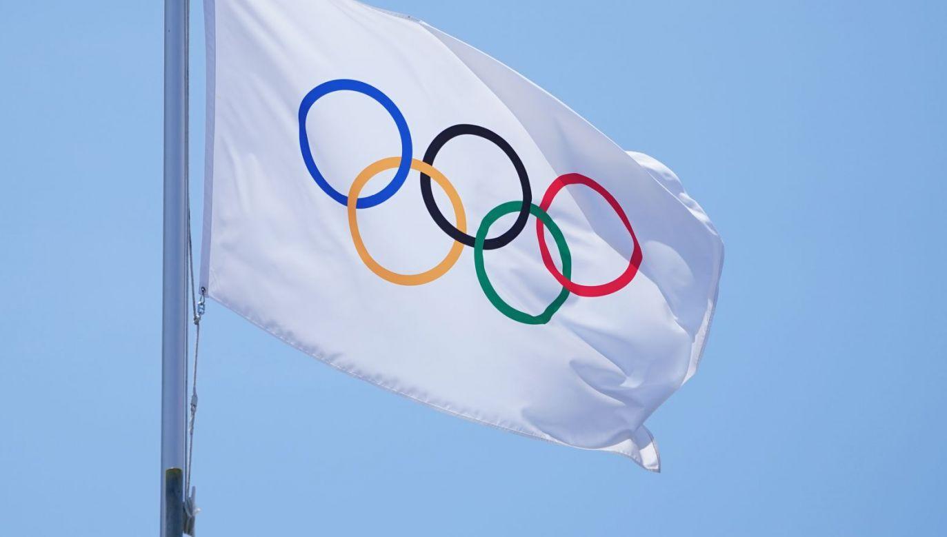 Flaga olimpijska (fot. Getty Images)