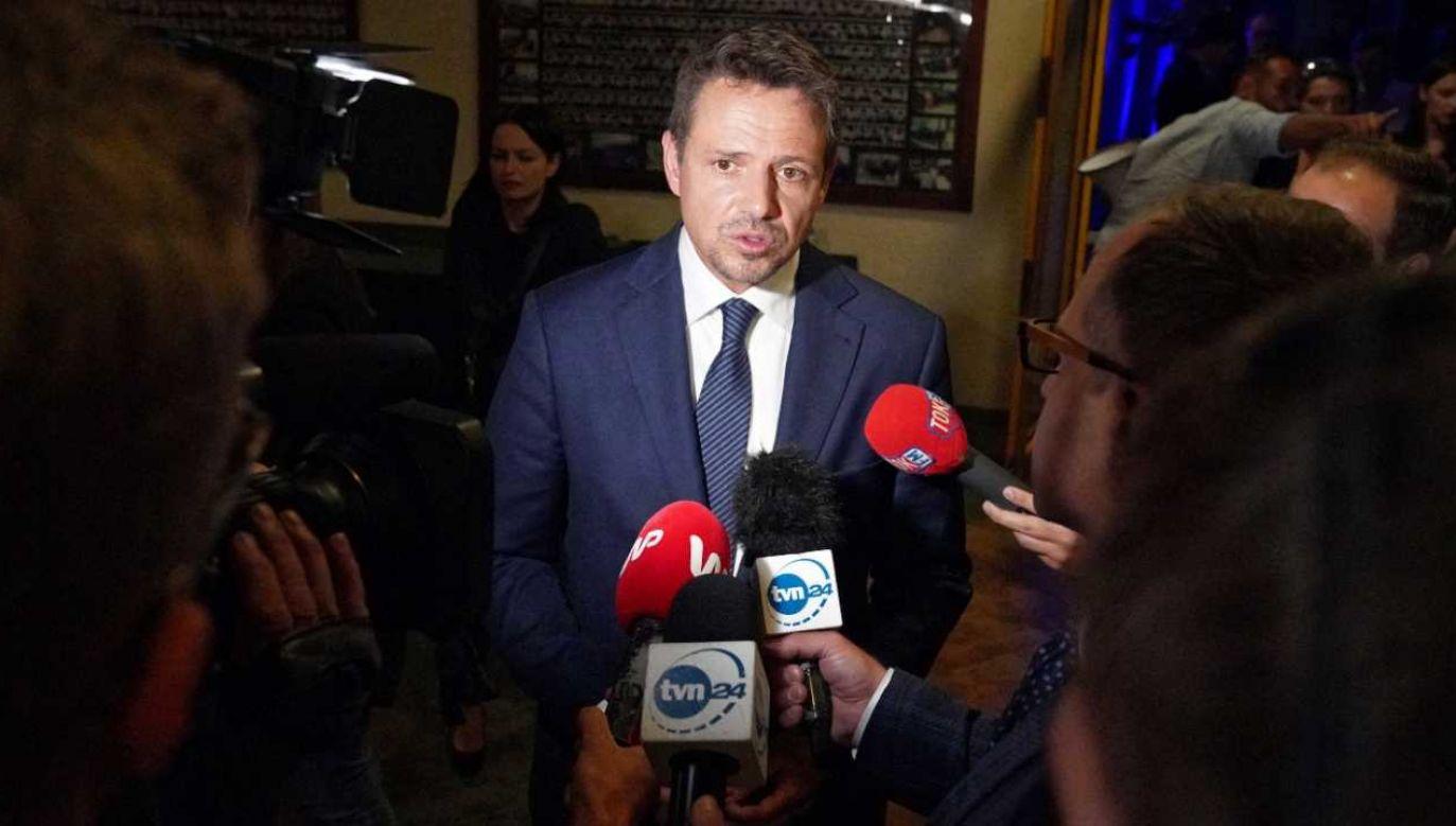 Wybory prezydenckie 2020. Rafał Trzaskowski (fot. PAP/Mateusz Marek)
