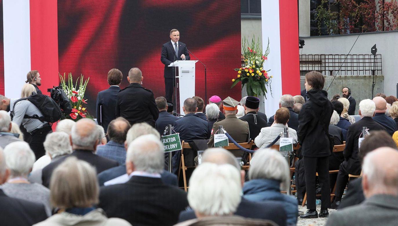 Prezydent Andrzej Duda (fot. PAP/Artur Reszko)