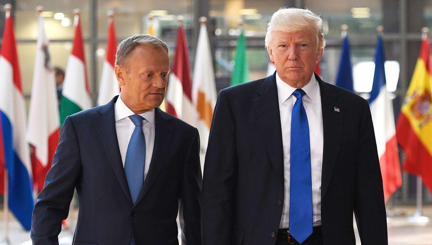 Były premier RP krytycznie o polityce amerykańskiego prezydenta (fot. Didier Lebrun/Photonews via Getty Images)