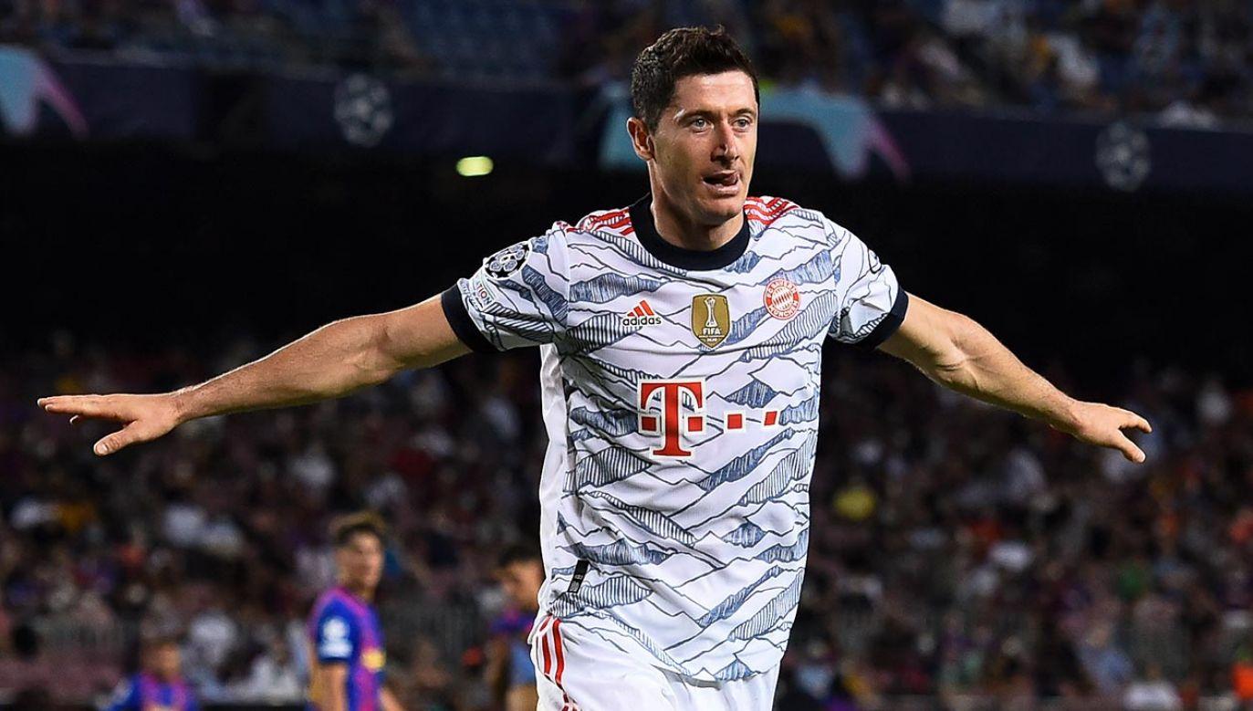 Robert Lewandowski bardzo chwali współpracę z nowym trenerem Bayernu Monachium (fot.  Adria Puig/Anadolu Agency via Getty Images)