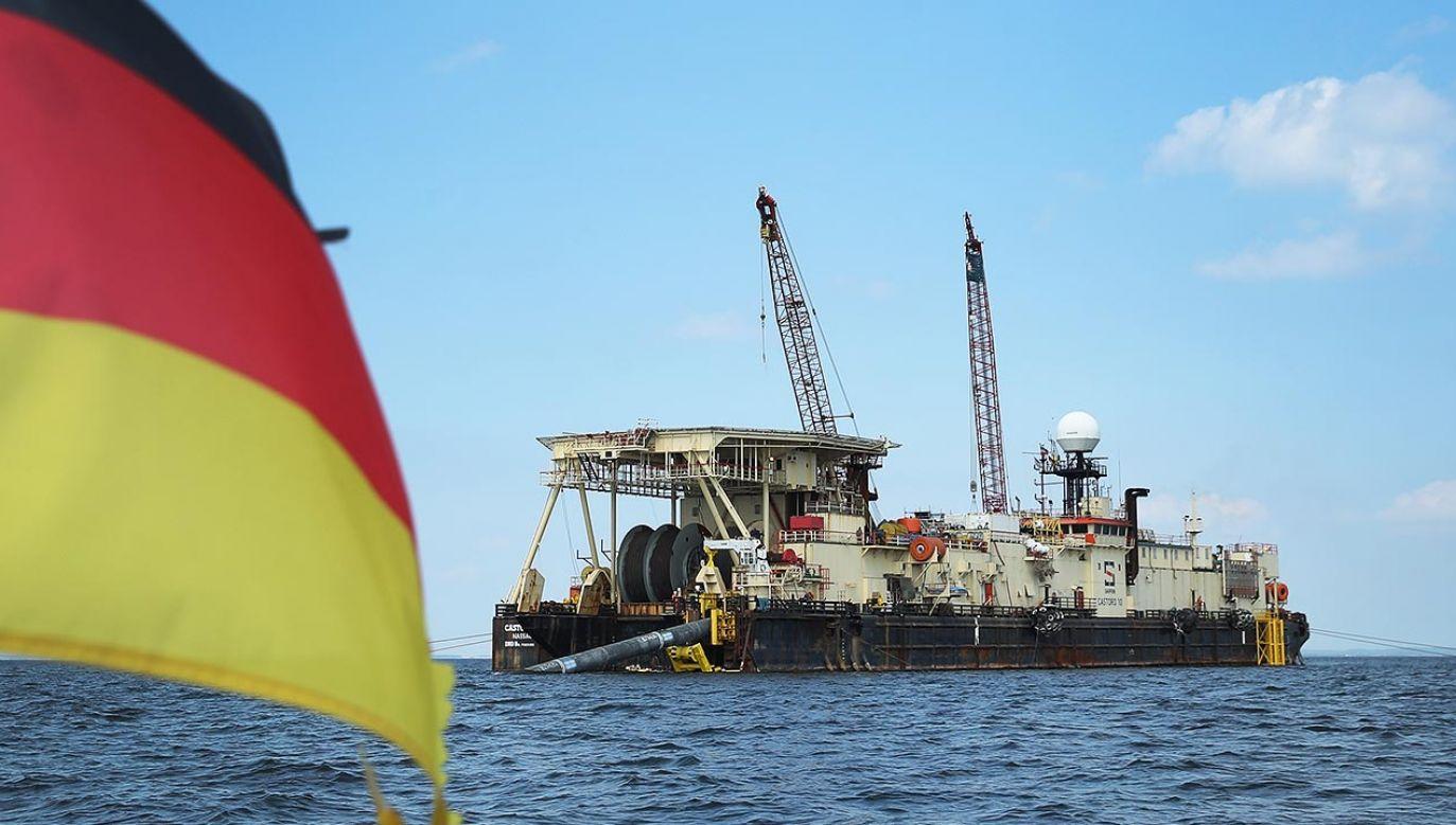 Celem nowych amerykańskich sankcji jest uniemożliwienie dokończenia Nord Stream 2 (fot. Sean Gallup/Getty Images)