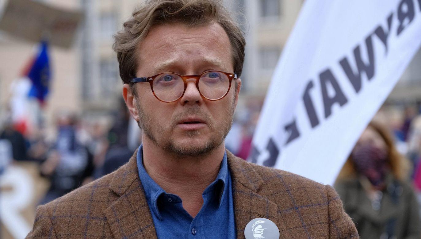 Michał Wawrykiewicz był kandydatem KE do Europarlamentu (fot. arch.PAP/Mateusz Marek)