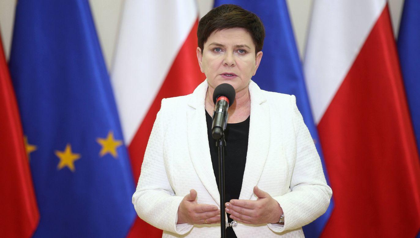 Beata Szydło (fot. arch.PAP/Łukasz Gągulski0