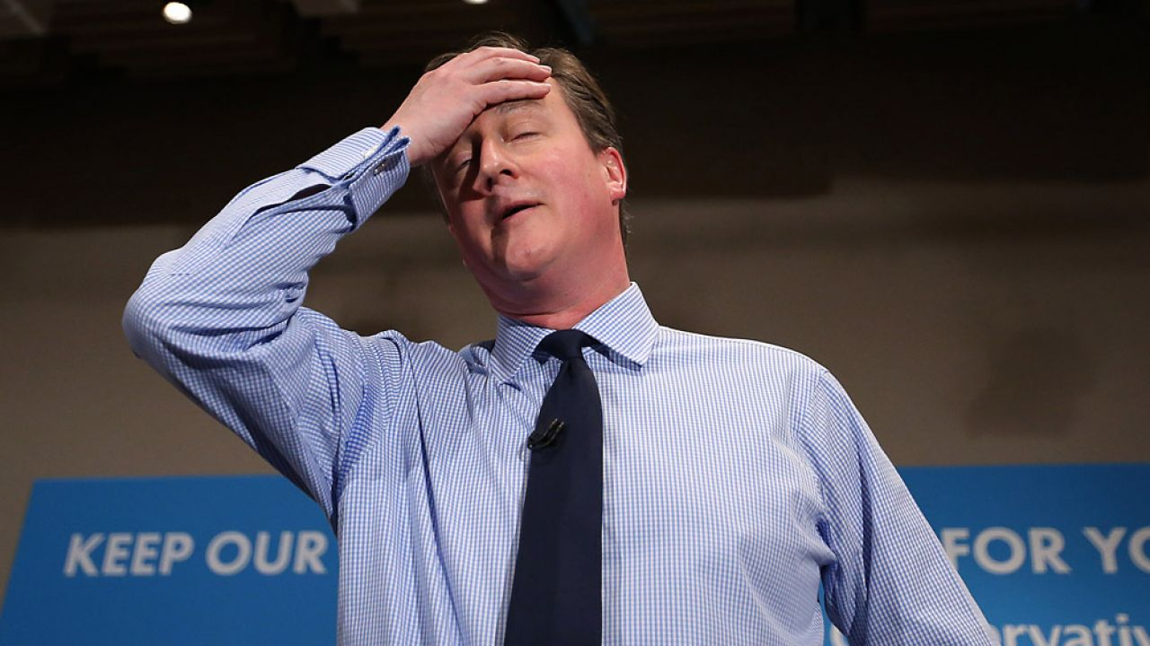 David Cameron (fot. by Peter Macdiarmid/Getty Images)