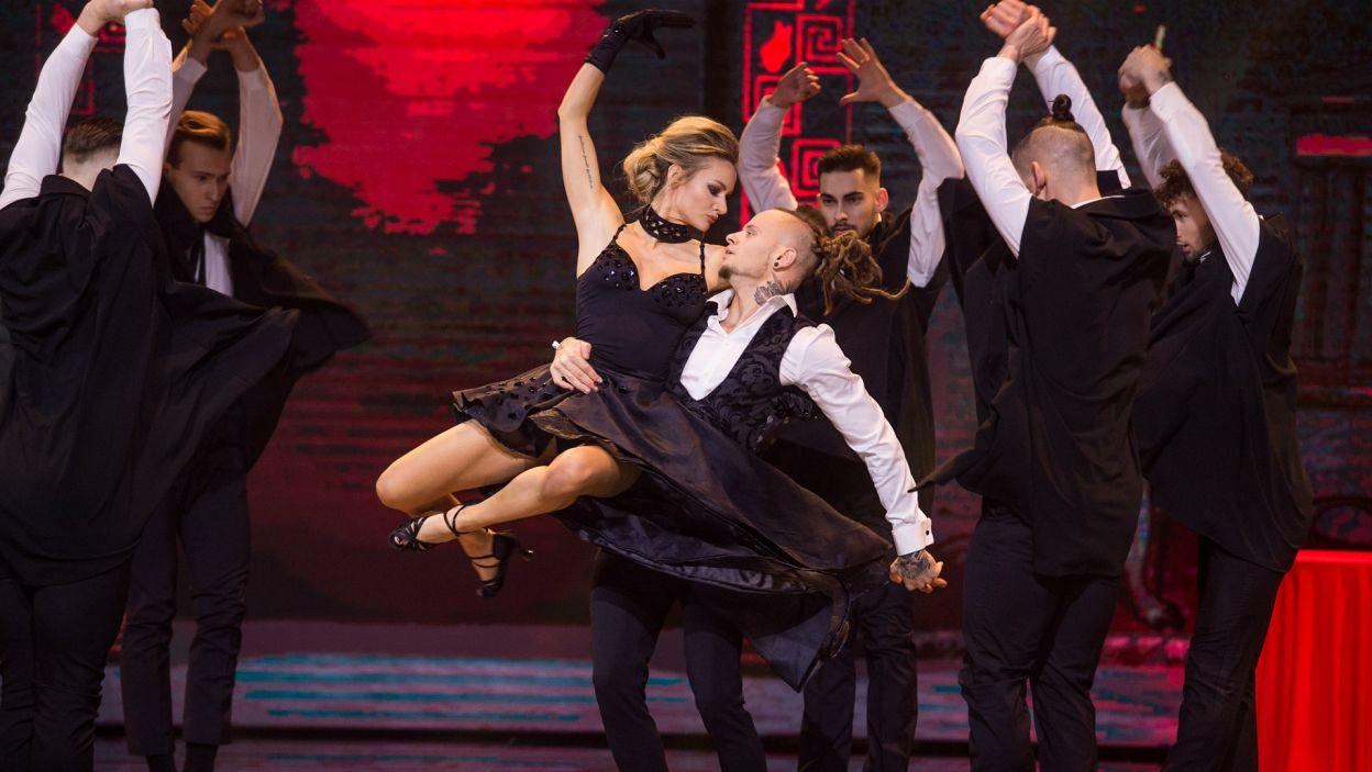 Z dobrej strony również pokazali się Fit Lovers, czyli Pamela Stefanowicz i Mateusz Janusz (fot. J. Bogacz/TVP)