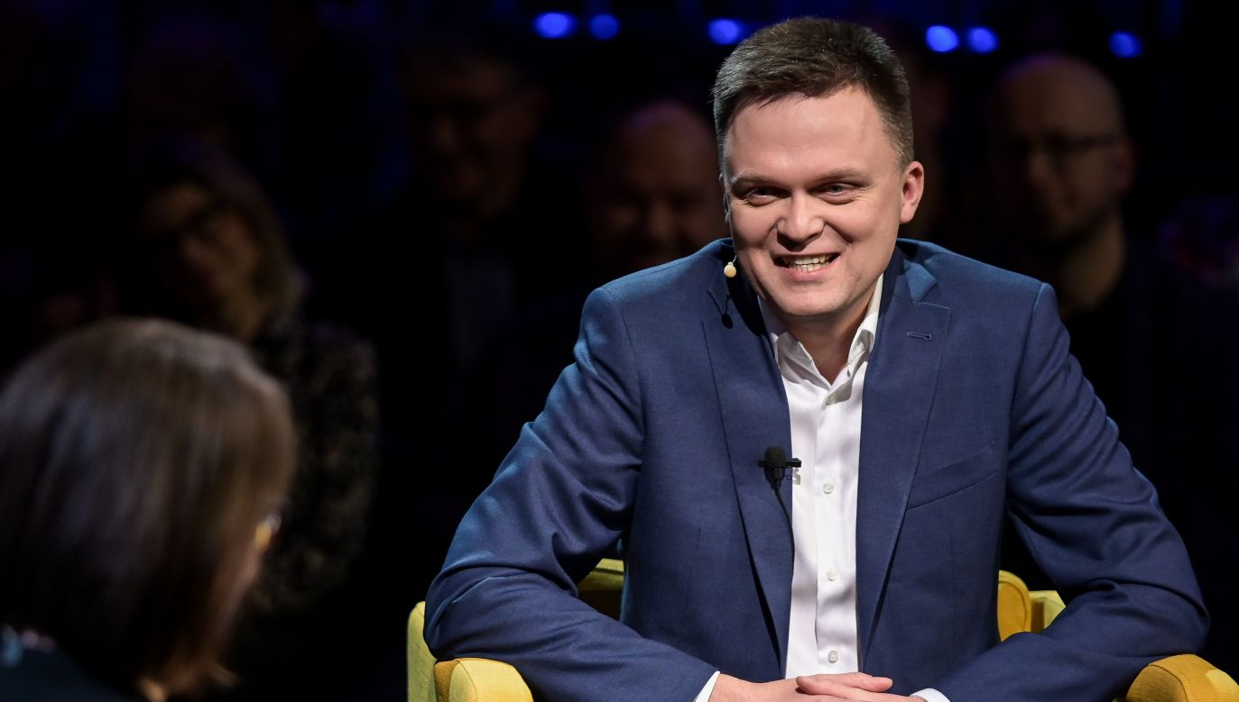 Szymon Hołownia, lider Polski 2050 (fot. Mateusz Slodkowski/SOPA Images/LightRocket via Getty Images)