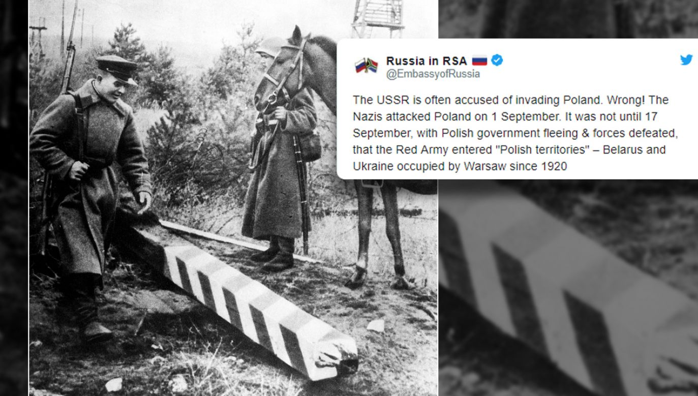 """""""Powiedzcie prawdę: napadliśmy na Polskę, bo tak było dla nas najlepiej. Jak dziś Ukrainę, a jutro kto wie"""" – napisał jeden z internautów w reakcji na rosyjską propagandę. (fot. arch. PAP/ITAR-TASS/TT/Russia in RSA)"""