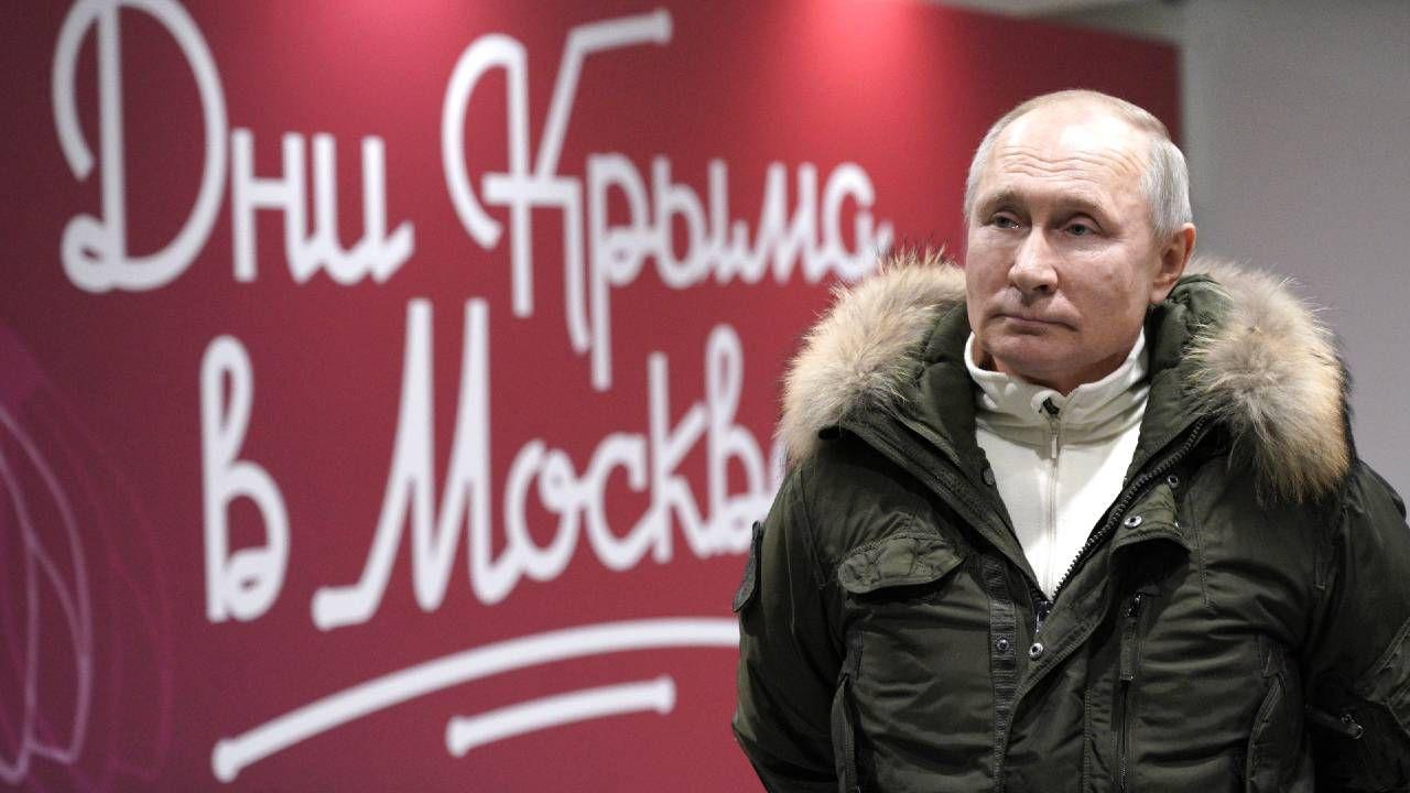 Władimir Putin gra na osłabienie Ukrainy (fot. PAP/EPA/ALEXEI DRUZHININ / SPUTNIK / KREMLIN POOL)